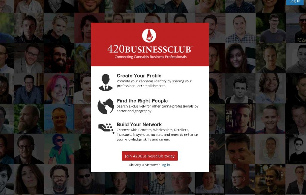 Self-promote and gain exposure, connect and interact, learn and grow, on 420BusinessClub.com