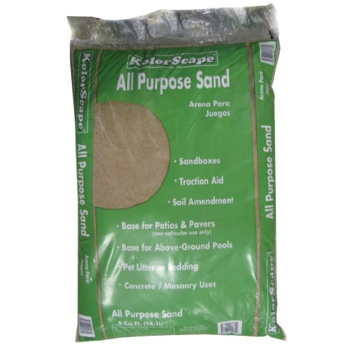 Michigan Peat 2750 Leisure Time Play Sand, 1/2 Cubic Feet