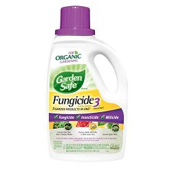 Garden Safe Brand Fungicide3 Concentrate, 20-Ounce, 6-pack