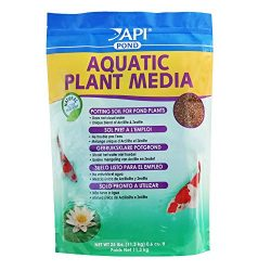 API POND AQUATIC PLANT MEDIA Potting Soil For Pond Plants  25-Pound Bag