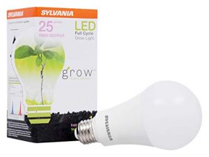 LEDVANCE Sylvania General Lighting 40023 A21 Ultra, Frosted Finish, 17 Watts LED Grow Lamp