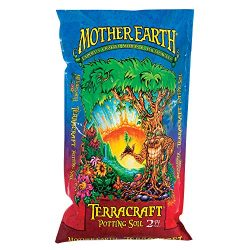 Mother Earth Terracraft Potting Soil, All Purpose Potting Soil For All Plants, Flowers, Vegetables And Tomatoes, 2 Cu. Ft.